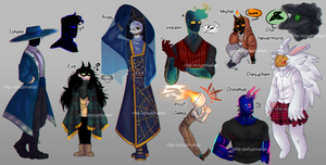 Freaks of the Fall || Character Concepts