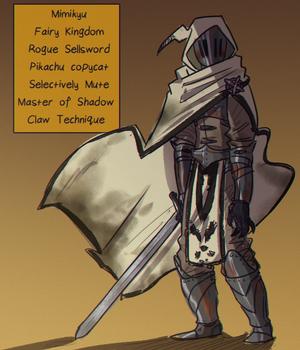 Mimikyu the Hedge Knight