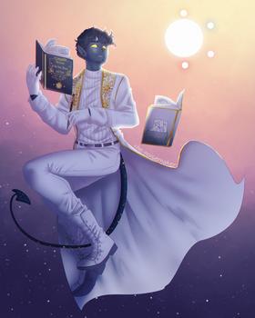 DND || Castor the Tiefling Warlock