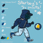 Starboy Color Palette