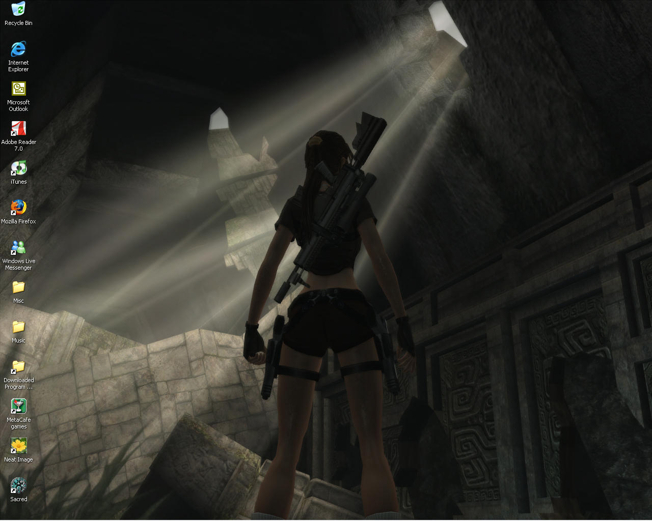 Tomb Raider: Legend by environaut