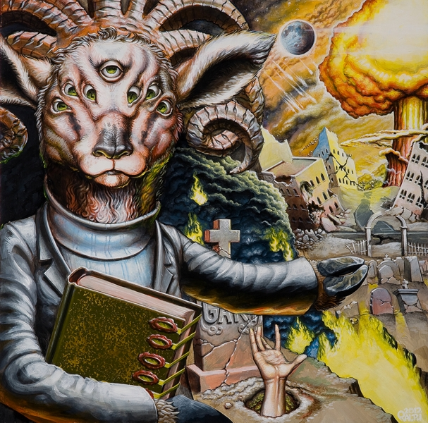 The Lamb Of Revelations - 2012 by WRWalters