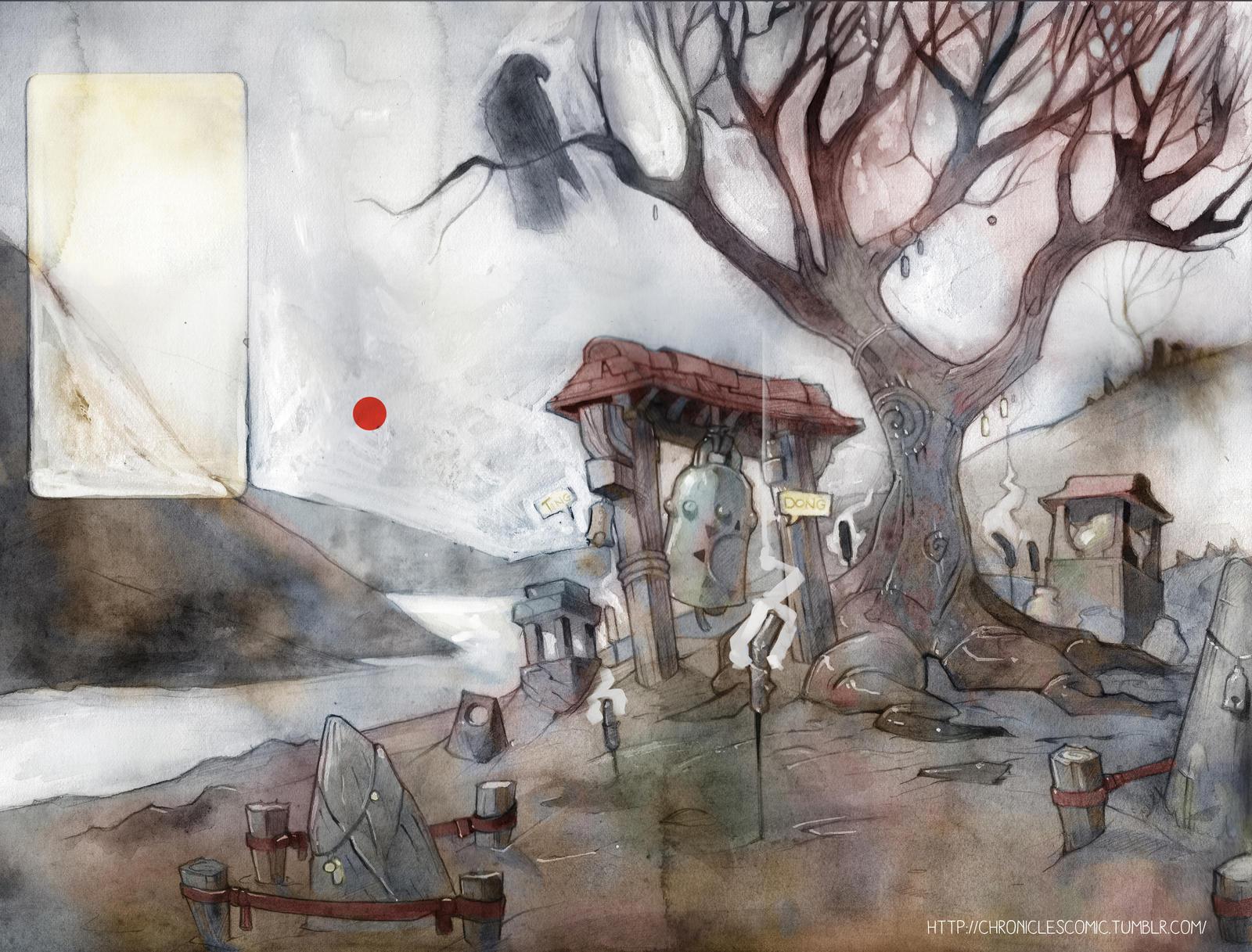 Shrine by the Loch by clockwerkjos