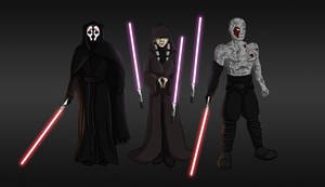 The Sith Triumvirate