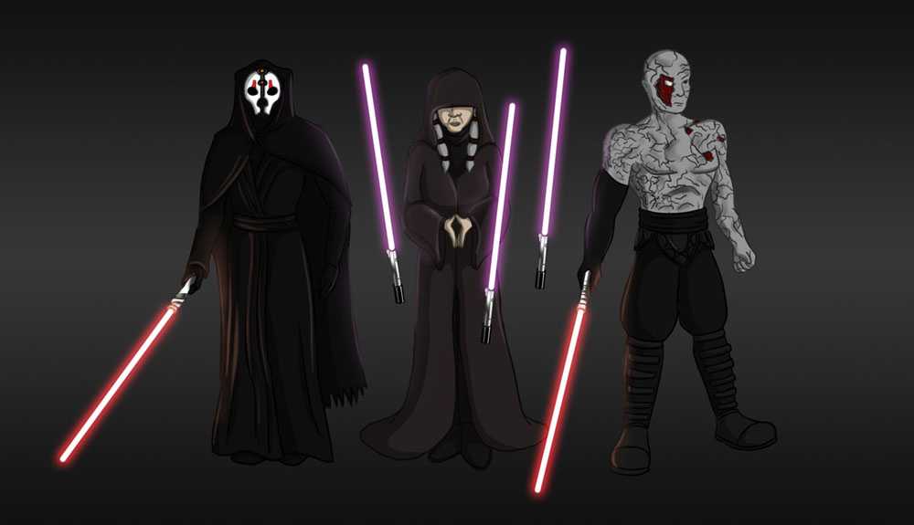 The Sith Triumvirate By Guimontag On Deviantart