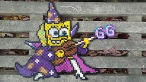 Spongebob Goofy Goober Rock Wizard perler