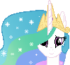 Celestia encourage sprite by GeneralHound