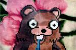 Drooling Pedo Bear Perler