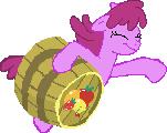 Berry Punch (full body sprite) by GeneralHound