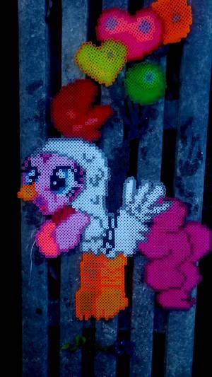 Perler nightmare night Pinkie Pie