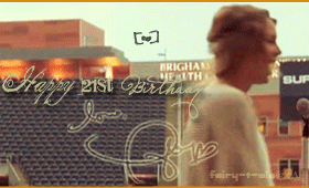 Happy 21st Birthday Taylor GIF by Fairy-T-ale