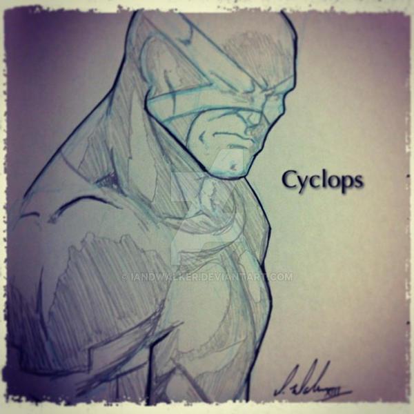 Cyclops of the New Uncanny X-Men by IanDWalker