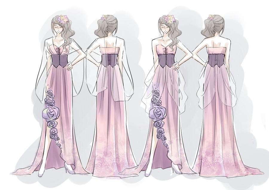 Hanami dress by 4x10