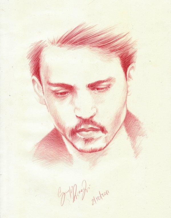 johnny Depp ...copy by SCHIATTAMUORT