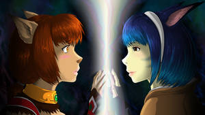 Two Worlds... Same Me by FFXI-Artico