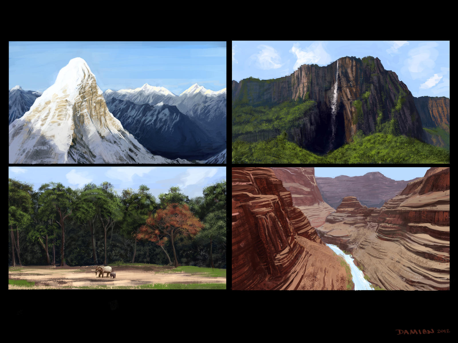 Environment Studies by DamienSaelak