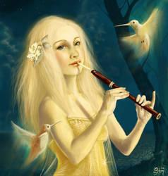 Eine Kleine Nachtmusik... by meluseena