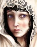Girl in the Rose Veil