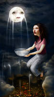 Handmaid to the Moon