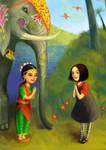 Sofia and the Flying Sofa by meluseena