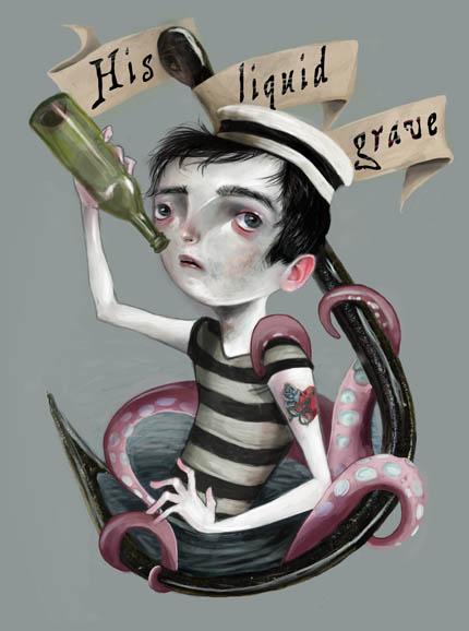 His Liquid Grave by meluseena