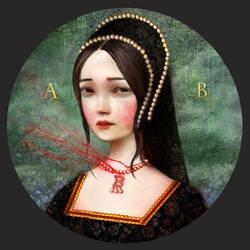 Ann Boleyn, The Most Happy by meluseena