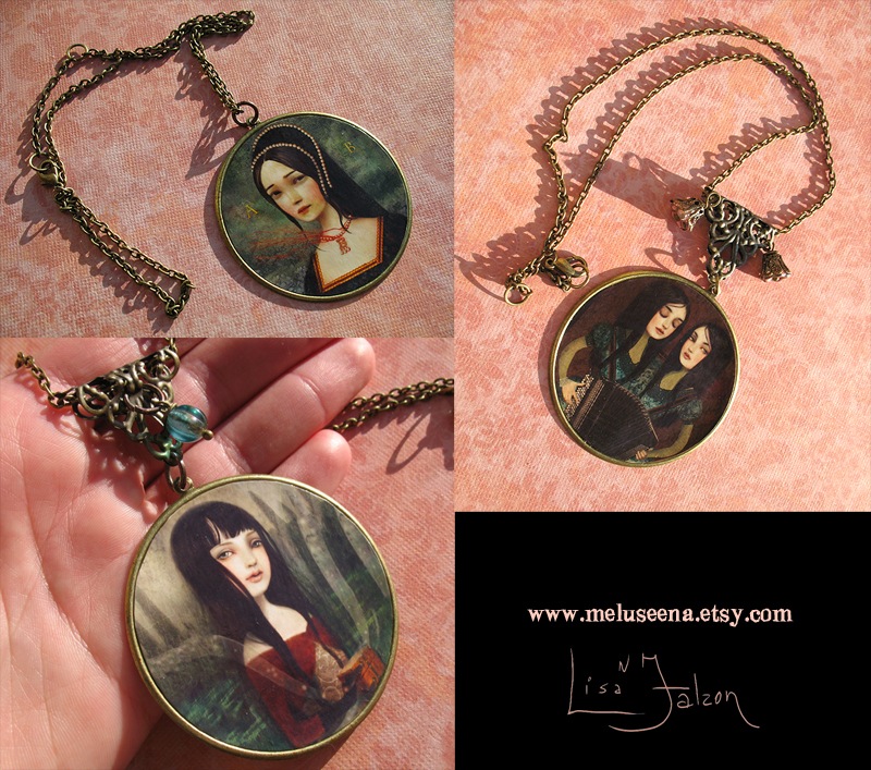 Some new wearable art by meluseena