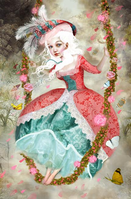 Marie in my Fancy by meluseena