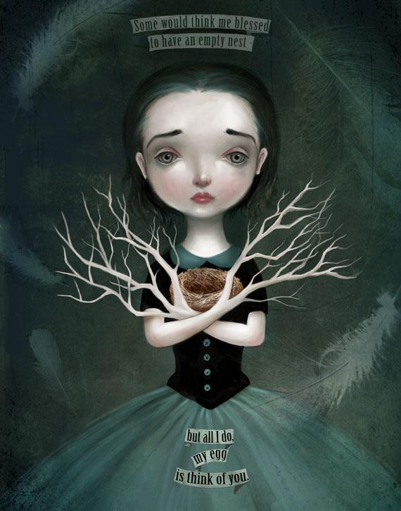 Empty Nest by meluseena