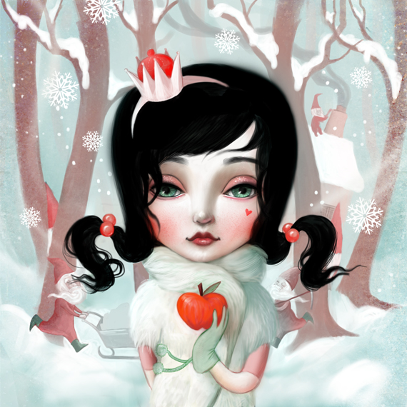 Snowwhite for La La Land by meluseena