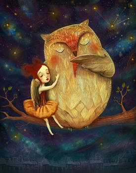 Star Owl Played her a lullaby!