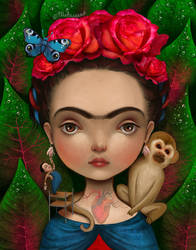Frida by meluseena
