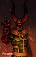 Loki Hellboy by frankieperez24