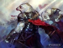 polar bear army by frankieperez24