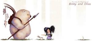 Binky and Olive: Rabbit Season by frankieperez24