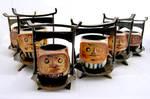 Daruma Tea Set