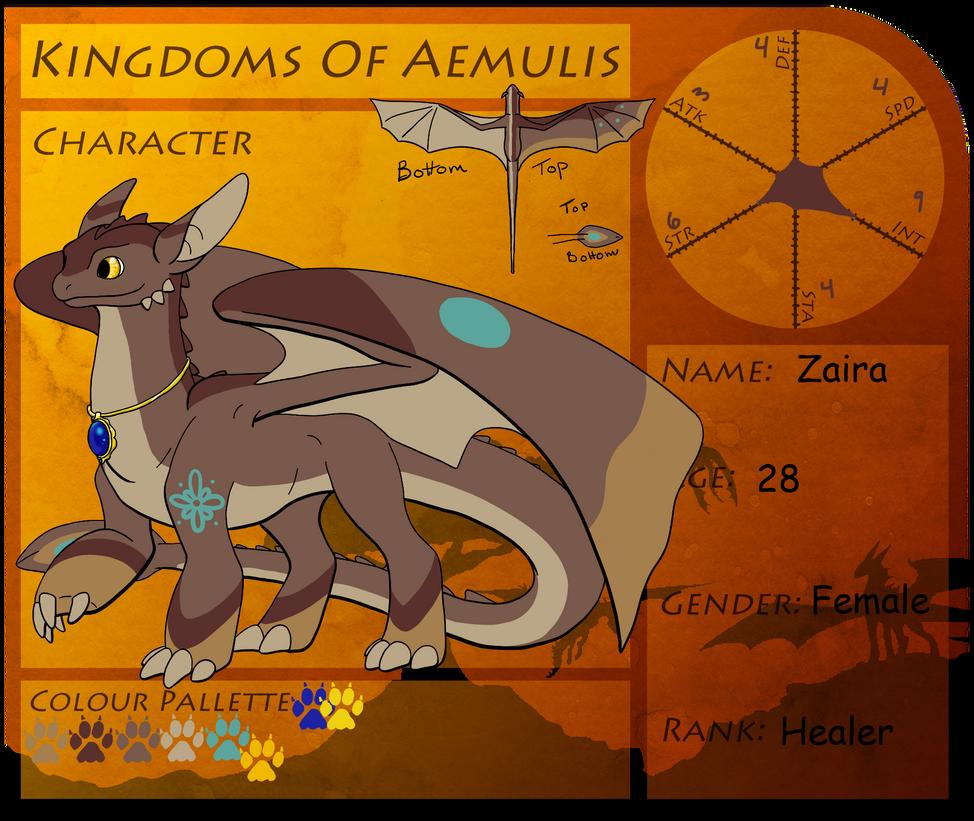Zaira Kingdoms of Aemulis by Zaira-Wolfe