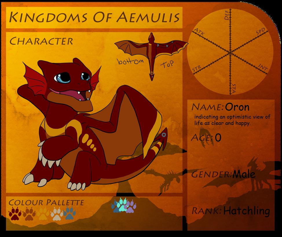 Oron Kingdomes of Aemulis by Zaira-Wolfe