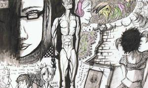 Sketchbook page 5 by Silverpaperplate