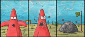 Patrick Star by Silverpaperplate