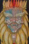 Dragon War Mask