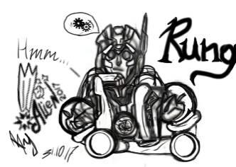 Rung [TF MTMTE ]{Sketch } by ALieN-Tyan