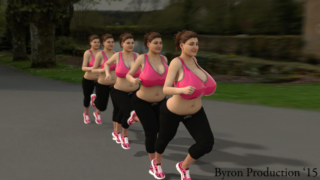 Jogging by ByronProduction