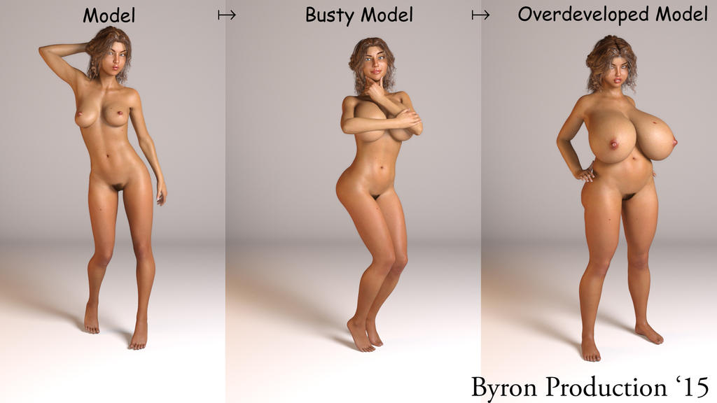 Model's Evolution by ByronProduction