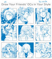 [Challenge] Draw Your Friends' OCs (2)