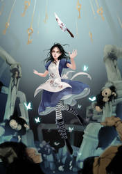 [Ang] Fanart | Alice: Madness Returns