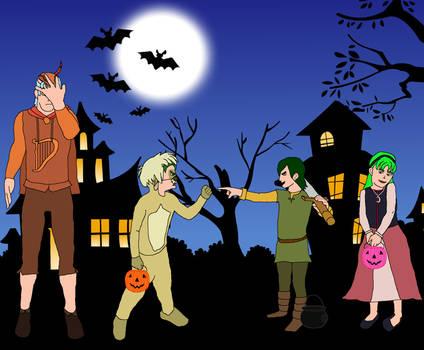 DBZ RPG: Prydainian Halloween