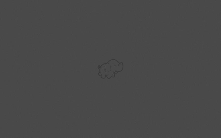 Minimal hadoop wallpaper by sp0rk on deviantart for Deviantart minimal wallpaper
