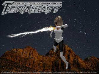 Diane Castle's Terawatt - Lightning in the Desert