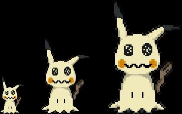 Mimikyu Pixel Art by Pixelsparkz